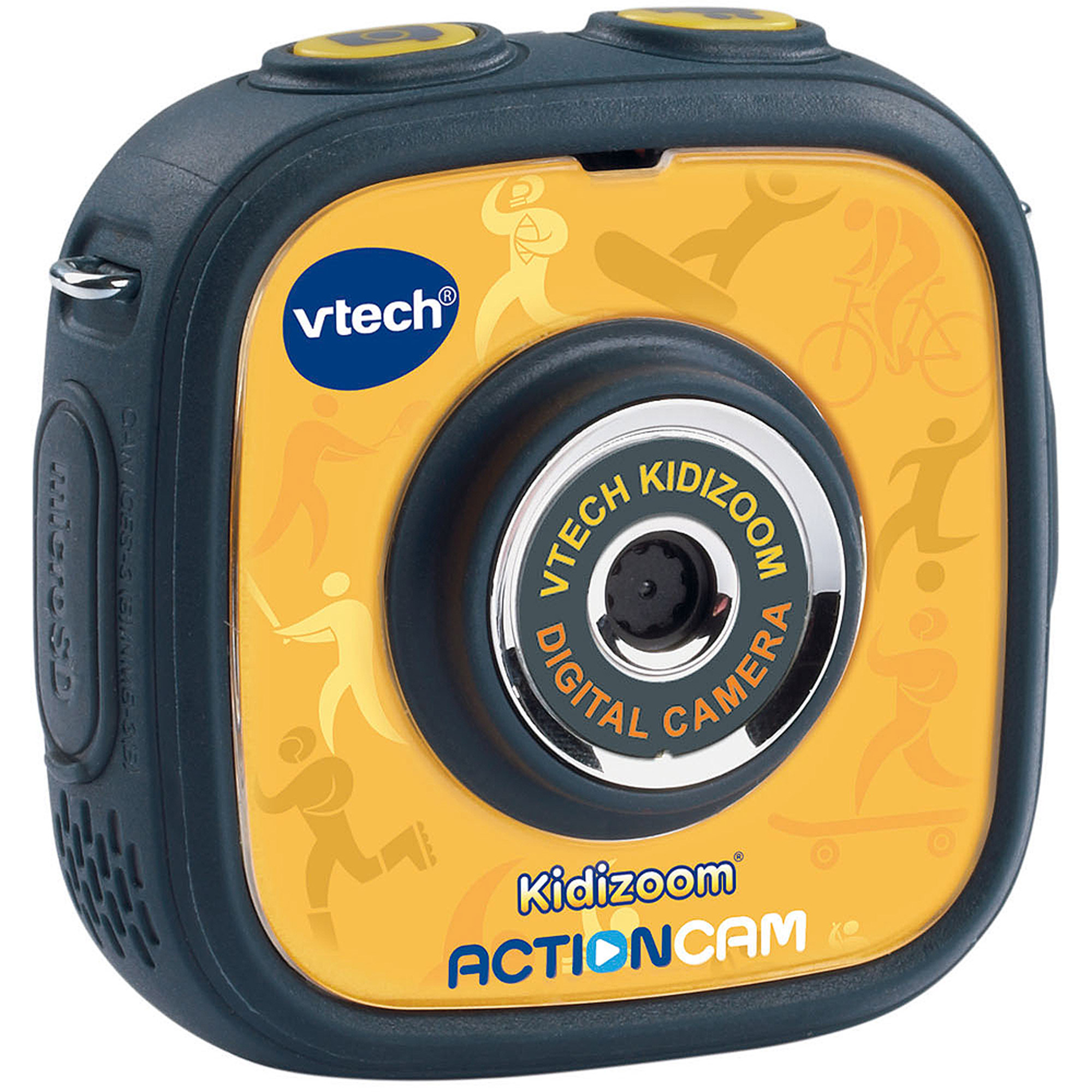 VTech Kidizoom Action Cam, in colors Yellow/Black or Purple