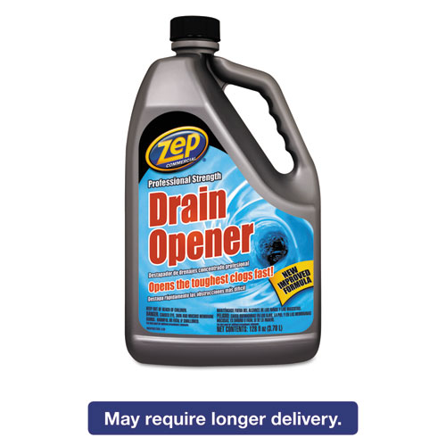 Amrep ZUPRDO128 Professional Strength Drain Opener, 1 Gal Bottle