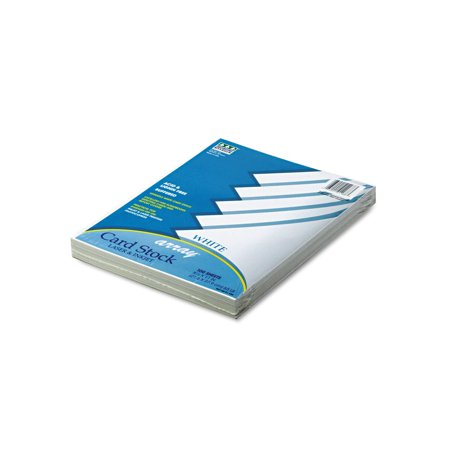 Branded Pacon Array Colored Card Stock, 65lb, White 100 Sheets Pack of 1 [Qty Discount / wholesale