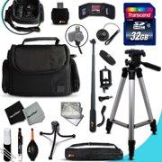 PANASONIC Digital Camera Ultimate ACCESSORIES KIT for PANASONIC Lumix DMC-GX8 FZ300 G7 GF7 LX100 GM5 FZ1000 GH4 LZ40 LZ30 GM1 GX7 FZ70 G6 LF1 GF6 GH3 LX7 G5 FZ200 FZ60 LZ20 GF5 GX1 3D1 FZ15 FZ47 FZ48