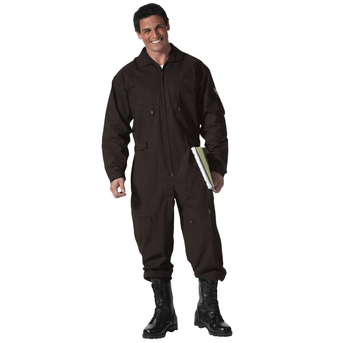 Black Air Force CWU-27P Style Flightsuit - Medium