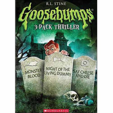 Goosebumps: Monster Blood / Night Of The Living Dummy / Say Cheese And Die (Full Frame)