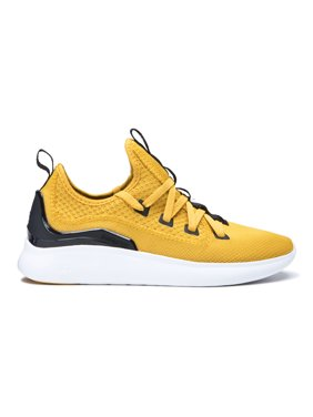 Supra Factor Men's Trainer Walking Fashion Sneaker 05895-735 Golden Black White