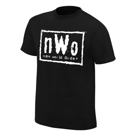 Official WWE Authentic nWo Retro T-Shirt Black Small (Wwe Yes Tshirt)