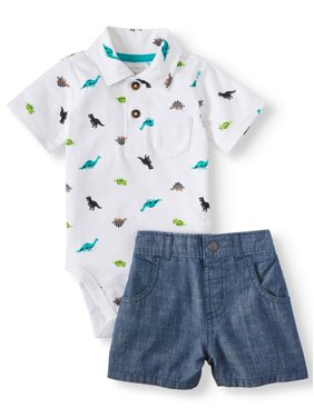 Baby Boys Casual Outfit Sets - Walmart com