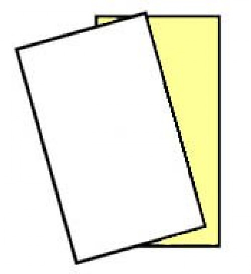 """250 Sets, Legal Size (8.5"""" x 14"""") NCR 01898, 2 part Carbonless Paper, White-Canary, Appleton by NCR - Appleton Paper"""