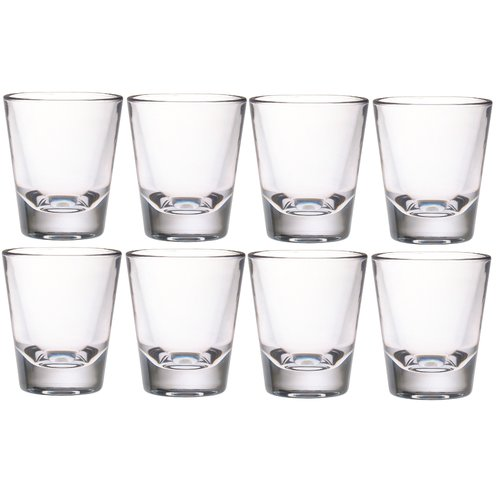 Chenco Inc. 1.5 oz. Acrylic Shot Glass (Set of 8) by Chenco Inc.