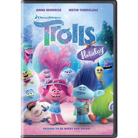 Trolls Holiday  Dvd