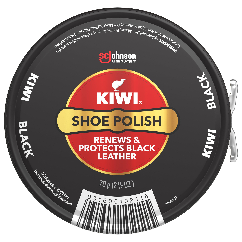 KIWI Shoe Polish, Black, 2.5 oz (1