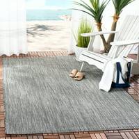 Safavieh Courtyard Morven Chevron Stripes Indoor/Outdoor Area Rug