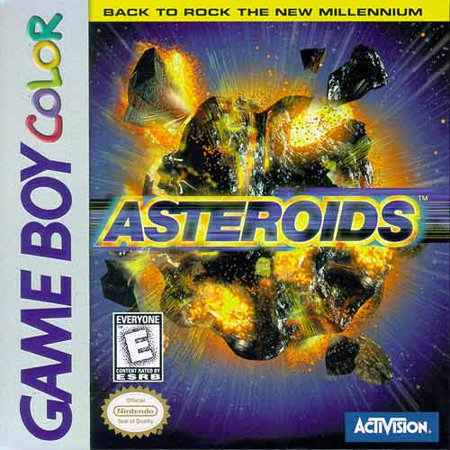 Asteroids Game Boy Color - 8 Year Old Games For Boys