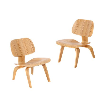 MCM HOME DECO Dinning Chair with Molded Plywood (Set of 2),