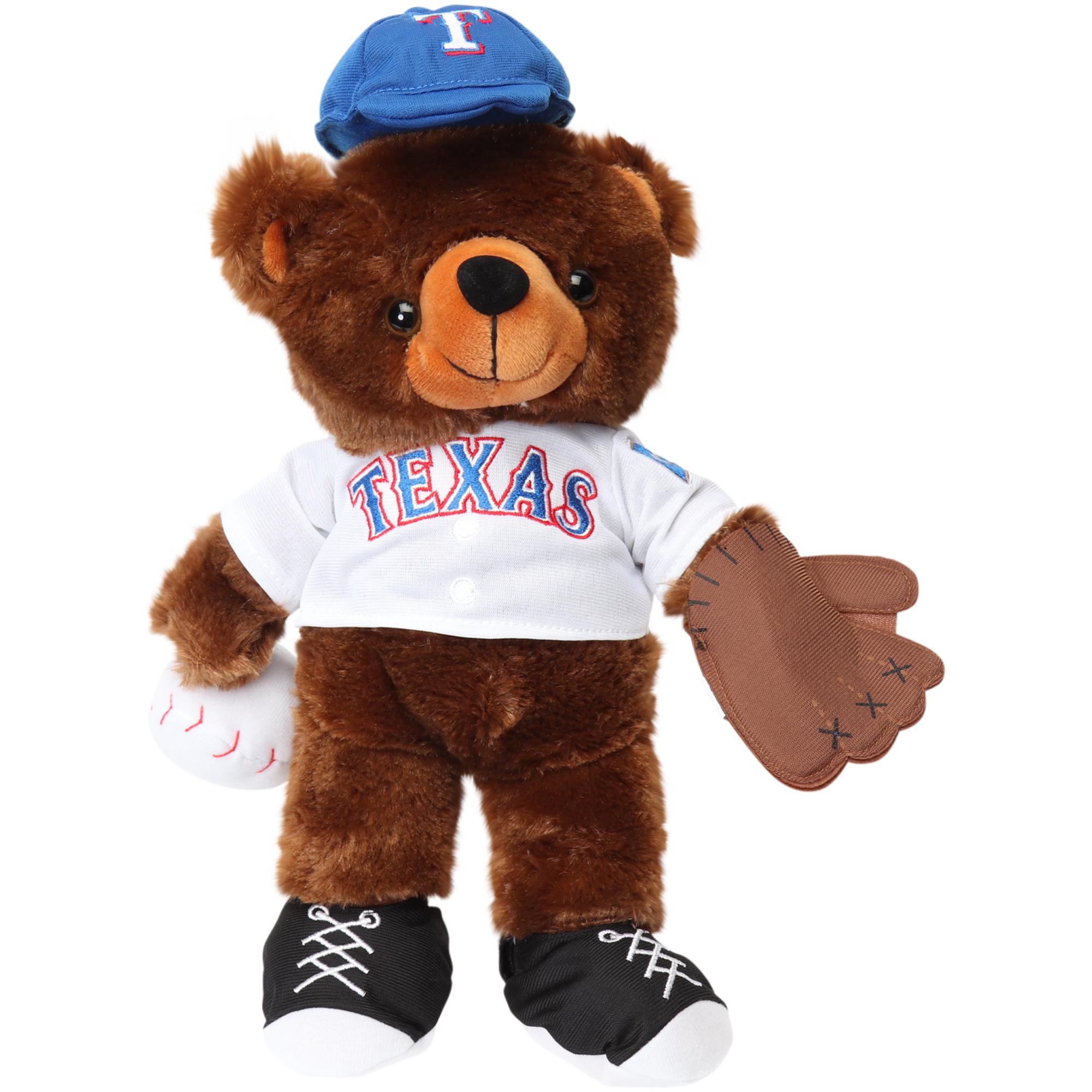 Texas Rangers Locker Room Buddy Dress Me Plush Bear Kit - No Size