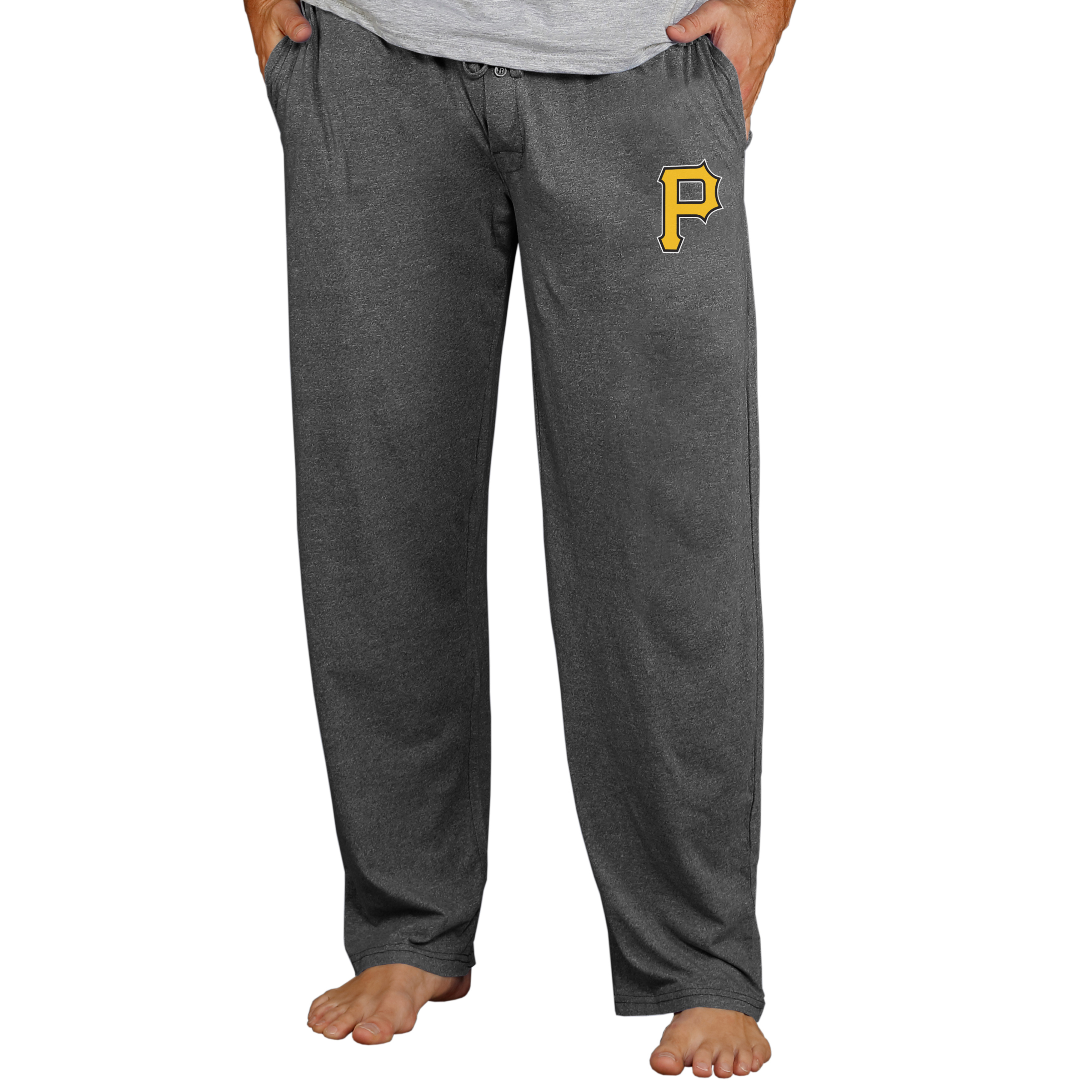 Pittsburgh Pirates Concepts Sport Quest Lounge Pants - Charcoal