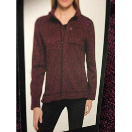 Marc New York Ladies' Lightweight Full Zip Jacket (M, Red) Red Coat Depot