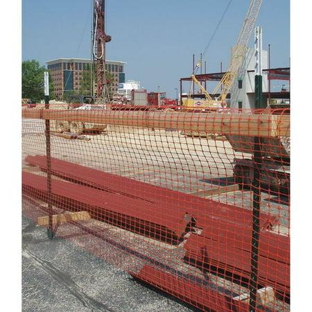 Image of 090045 Safety Fence, 4 ft. H, 50 ft. L, Orange