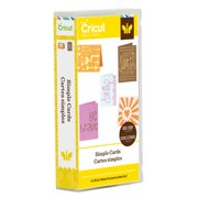 Cricut Project Simple Cards Cartridge