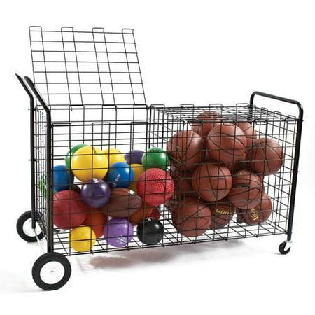 Sport Locker (BSN Sports Double-Sided Ball Locker, Black )