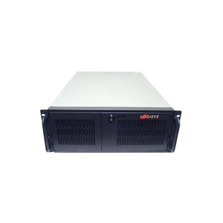 LOGISYS CS6501H No Power Supply 4U Industrial Rackmount Server Chassis  (Black)