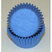 Light Blue - Mini Baking Cups - 100 Count