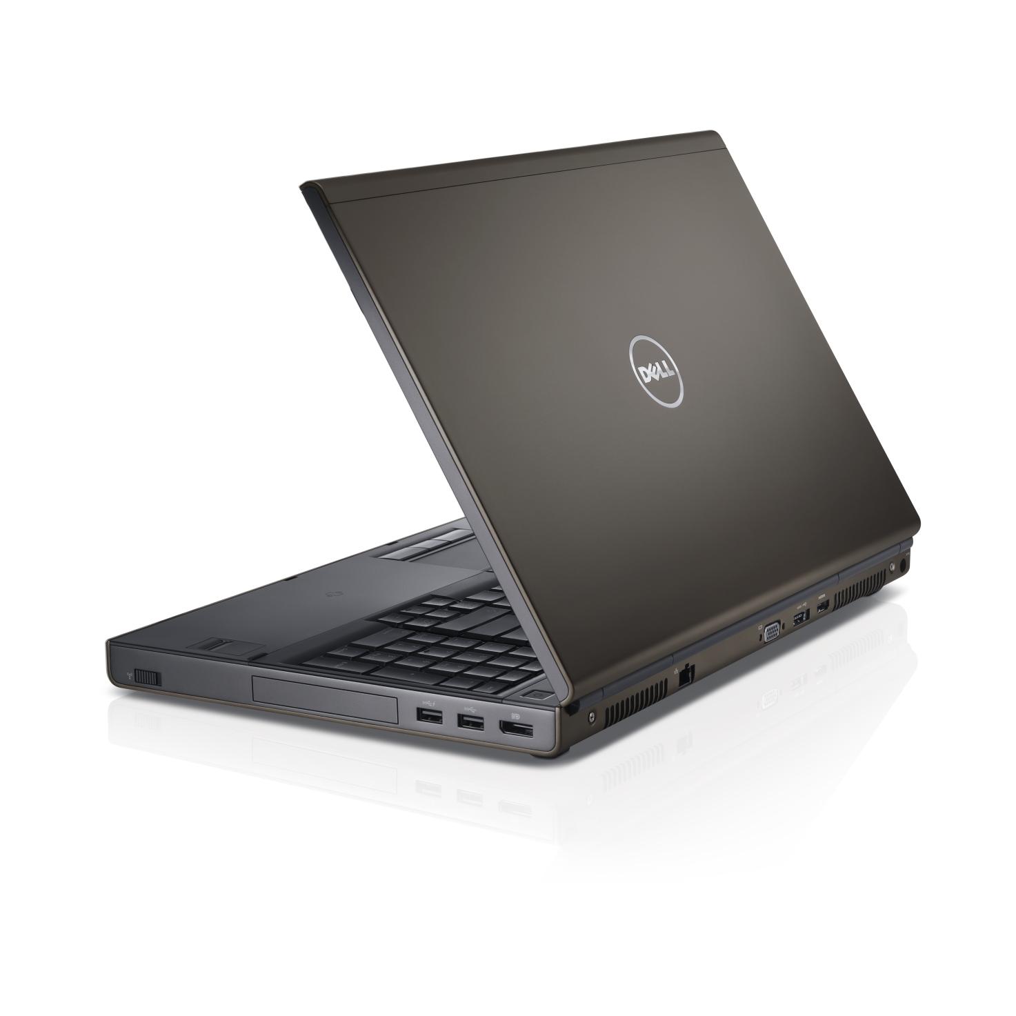 Dell Precision M4800 Intel Core i7-4800MQ X4 2.7GHz 16GB 256GB SSD,Gray (Certified Refurbished)