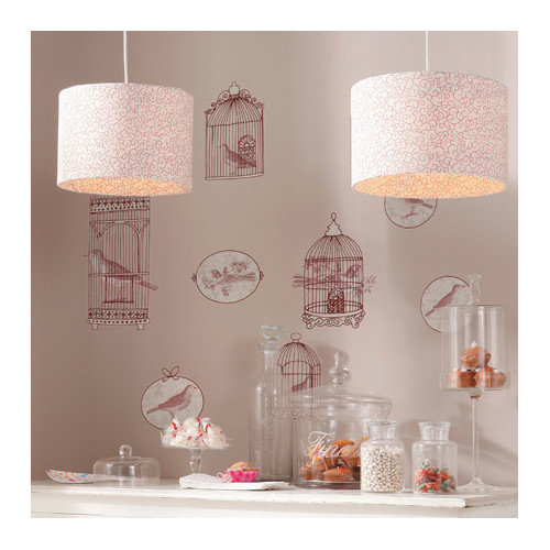 Brewster Home Fashions Euro Living Bird Cage Wall Decal