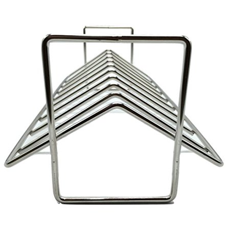 Aura Outdoor Products AOP-SVRP Stainless Steel Rib and Roasting Rack. for use with Big Green Egg, Kamado Joe, Vision, Grill Do - image 1 of 1