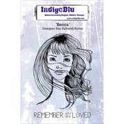 """IndigoBlu Cling Mounted Stamp, 7"""" x 4.75"""""""