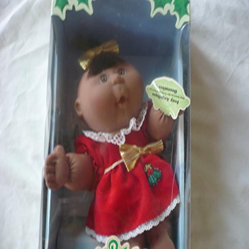 Cabbage Patch Kids 2012 Limited Edition Holiday Doll (Brunette) by Jakks