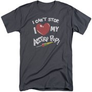 Astro Pop I Heart Mens Big and Tall Shirt
