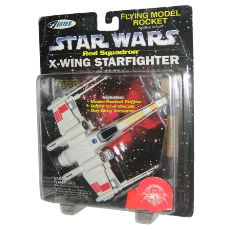 Star Wars Red Squadron X-Wing Starfighter Flying Model Rocket Toy