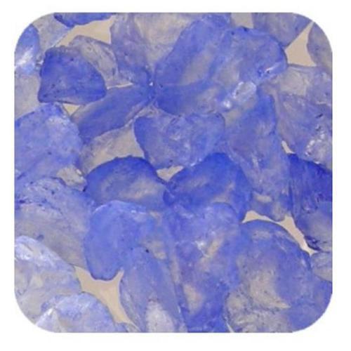 Sandtastik Ice10Lblubry Sandtastik Ice Real Glass Gems, Table Scatters & Vase Filler Blueberry - 10 Lb