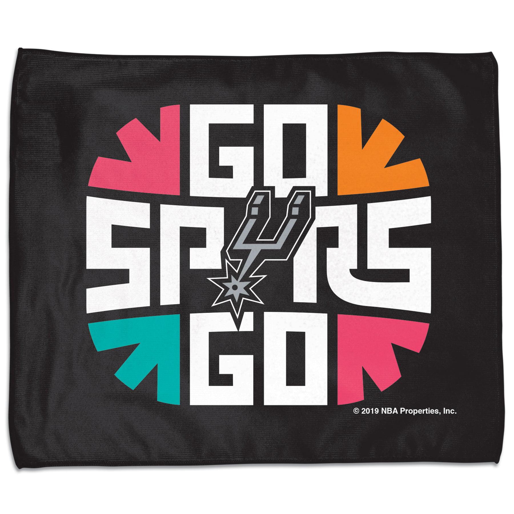 San Antonio Spurs WinCraft 2019 NBA Playoffs Bound 15'' x 18'' Slogan Rally Towel - No Size