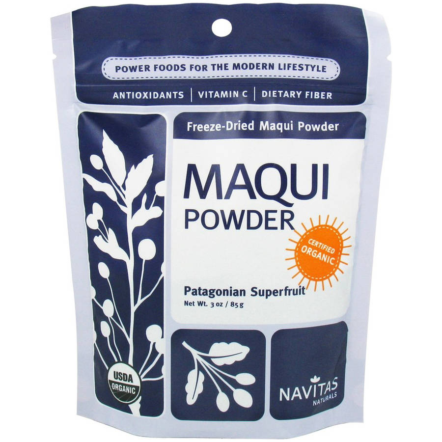 Navitas Naturals Organic Freeze-Dried Maqui Powder, 3 oz