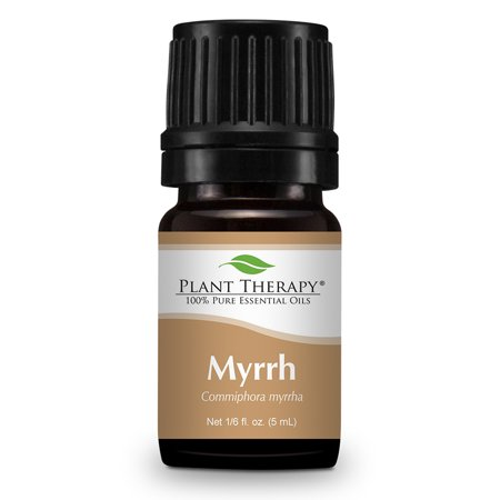 Plant Therapy Myrrh Egyptian Essential Oil 5 Ml  1 6 Fl  Oz   100  Pure  Undiluted  Therapeutic Grade