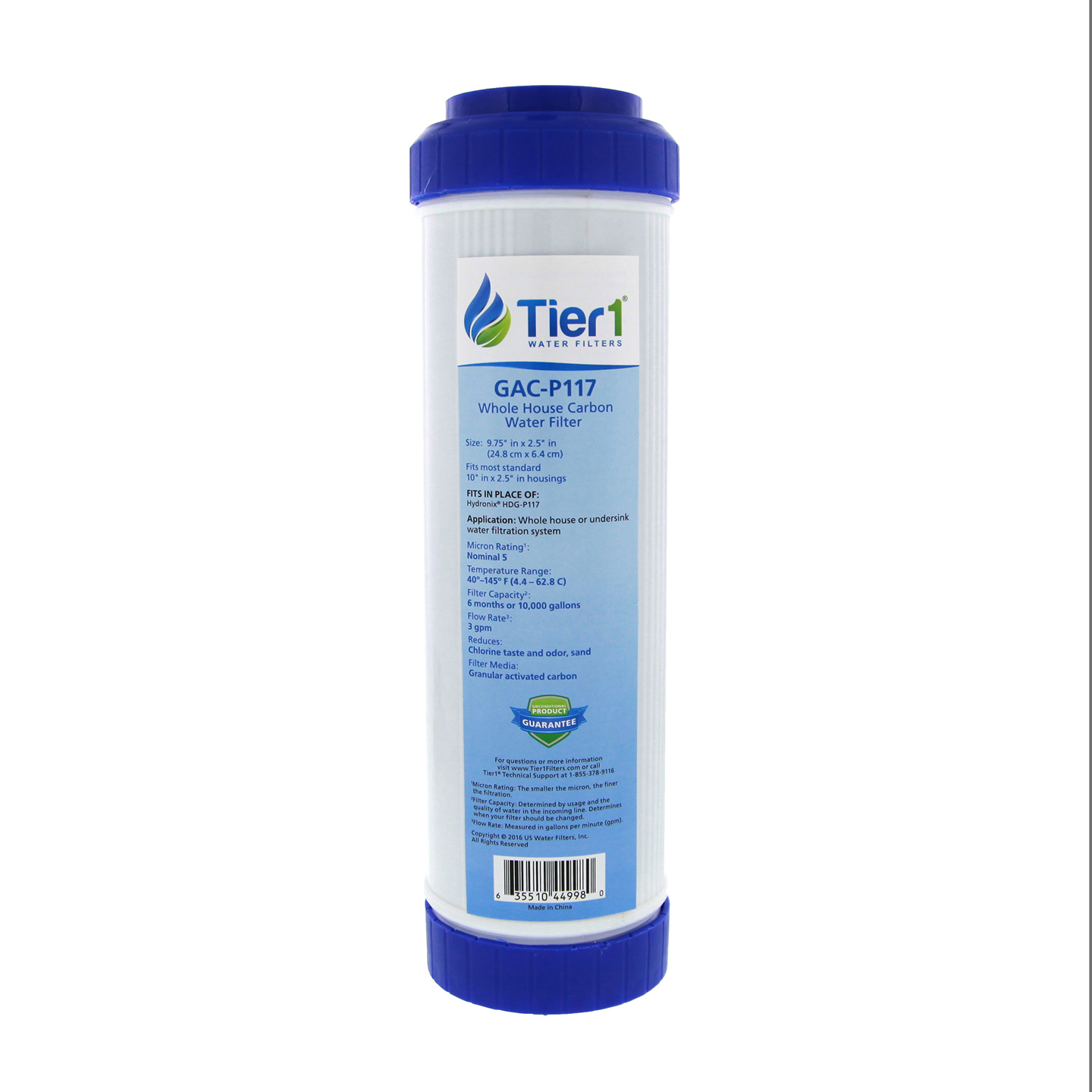 Tier1 Replacement for AquaPure 3M AP117 5 Micron 10 x 2 5 Granular Activate  Carbon Water Filter