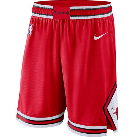Chicago Bulls Nike Icon Swingman Basketball Shorts - Red