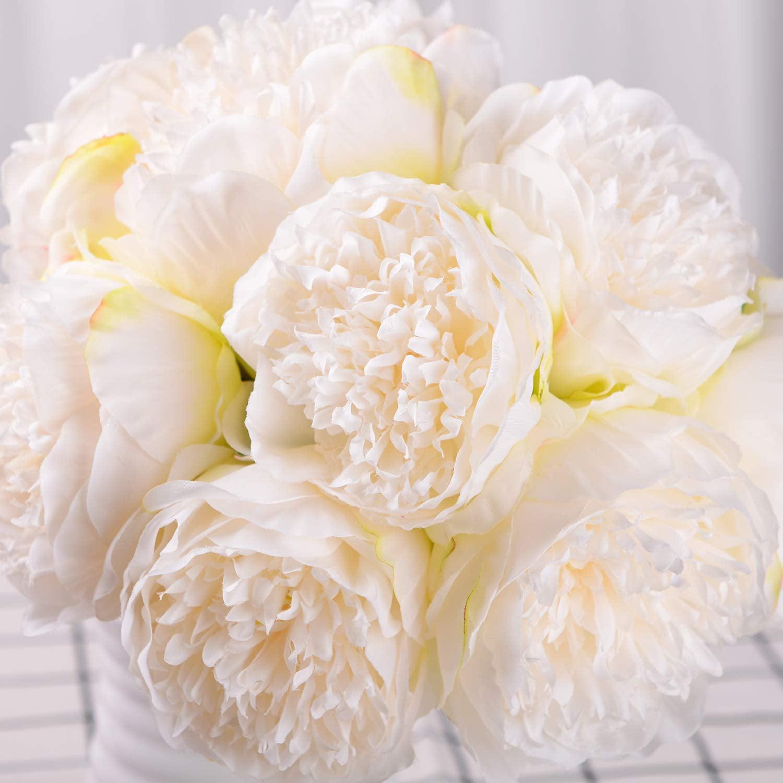 10 Heads Silk Artificial Lavender Flowers Bouquet Wedding Home DIY Decor Gift