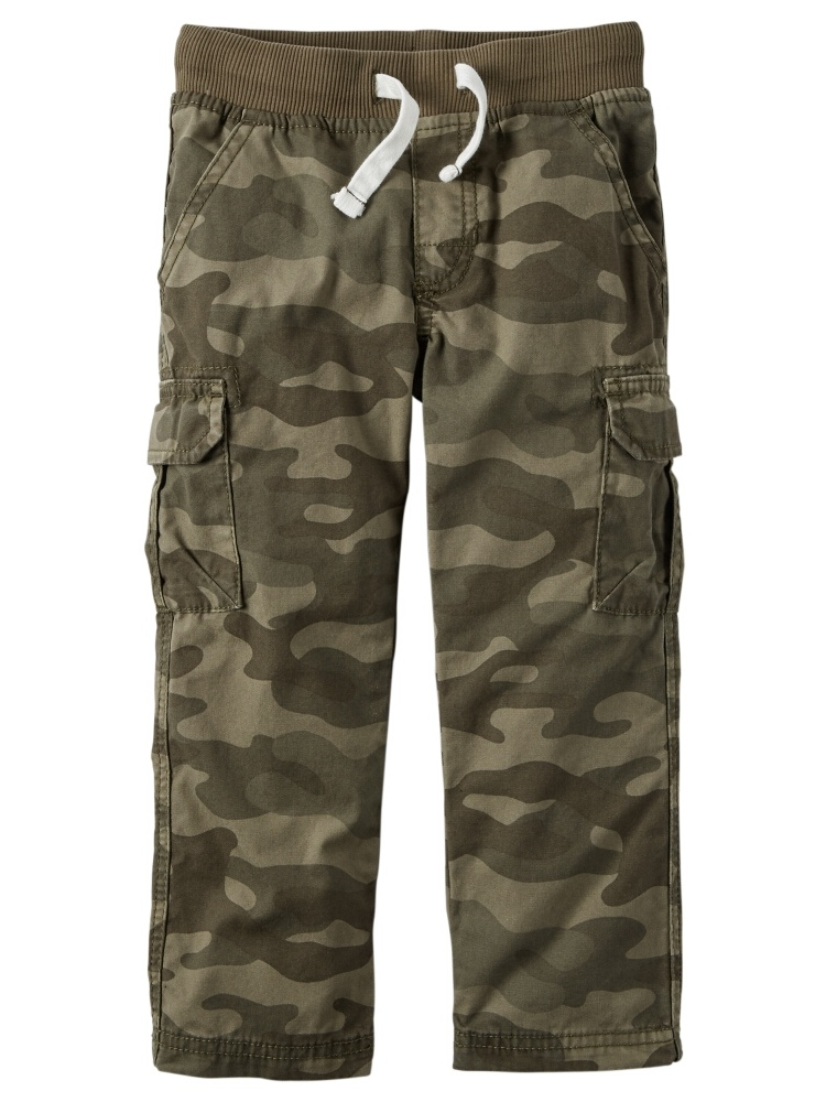 Carters Baby Clothing Outfit Boys Drawcord Cargo Pants Camo