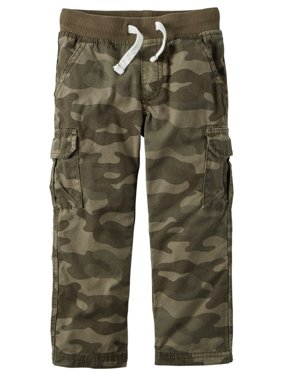 3ebe8fc95 Product Image Carters Baby Clothing Outfit Boys Drawcord Cargo Pants Camo
