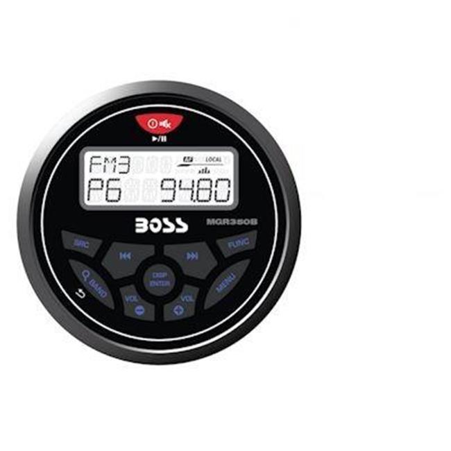 Boss Audio MCKGB350W.6 Marine Stereo Package