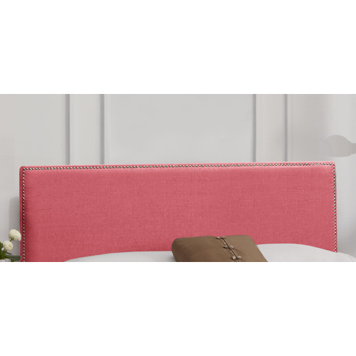 Skyline Furniture Nail Button Linen Upholstered Headboard