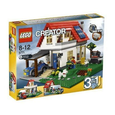 LEGO Creator Limited Edition Set #5771 Hillside House Lego Creator House Set