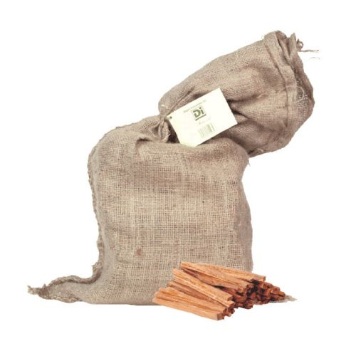 Fatwood Fire Starter in Burlap Bag by