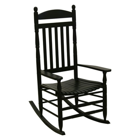 Outstanding Hinkle Riverside Round Post Slat Back Wood Patio Rocking Chair Theyellowbook Wood Chair Design Ideas Theyellowbookinfo