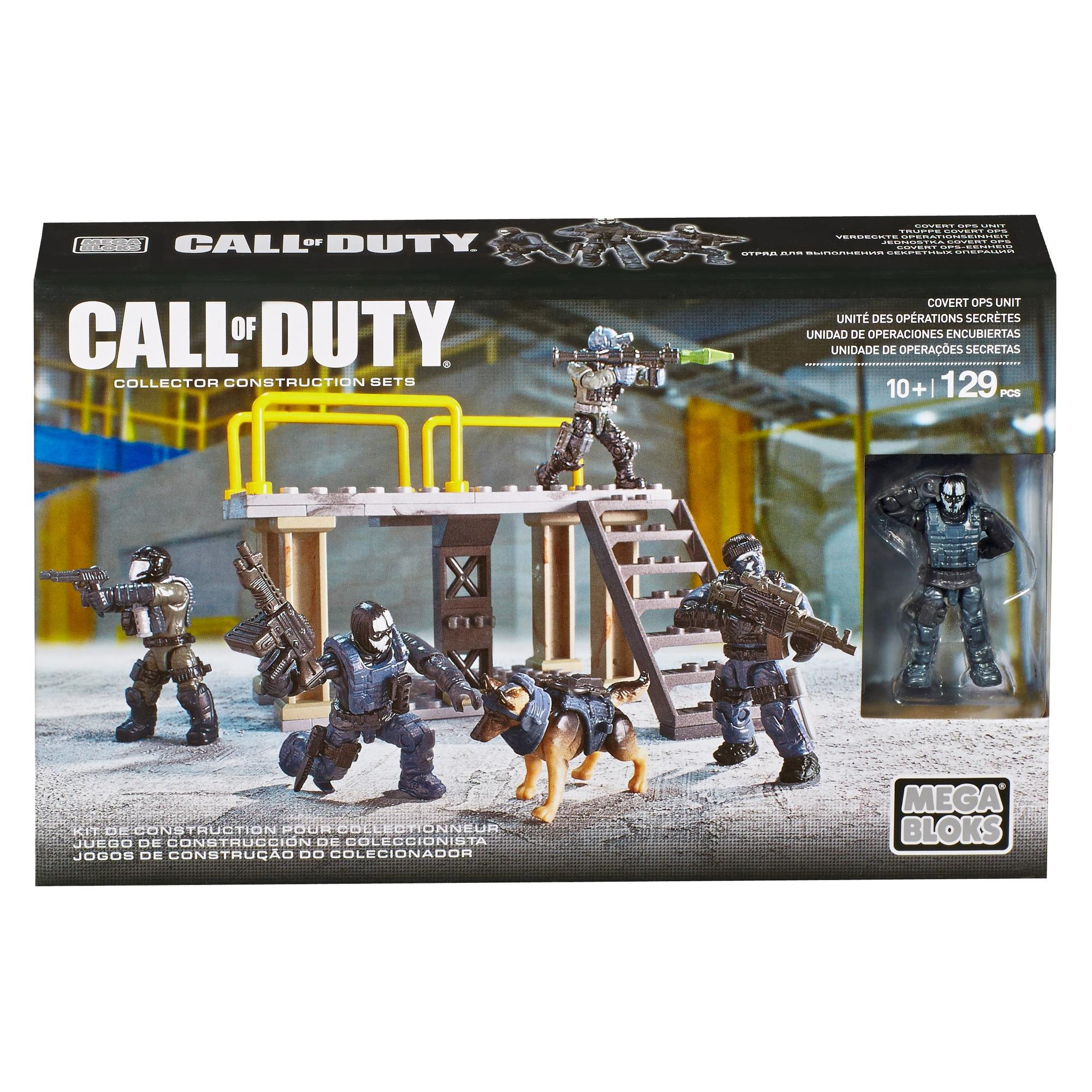 Mega Bloks Call of Duty Covert Ops Unit