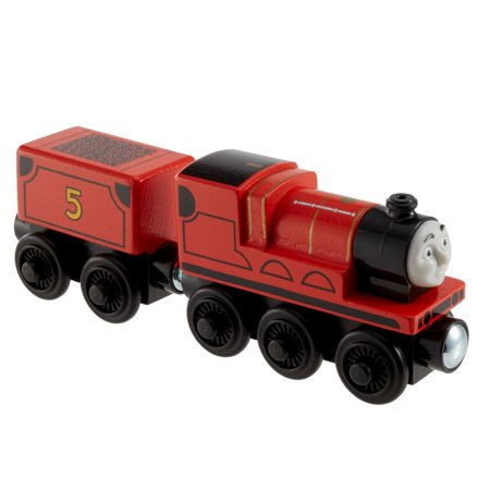 Thomas & Friends Wood James Wooden Traffic Engine Train - James The Train