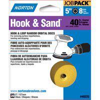 """Norton 49225 Disc 8H 5"""" P40 20Pk"""