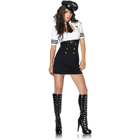 Leg Avenue First Class Captain Adult Halloween - Halloween Class Assembly