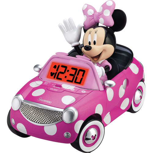 Minnie Mouse Alarm Clock, pink